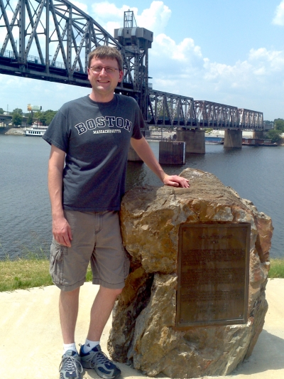 Me and the Little Rock (not in Boston)
