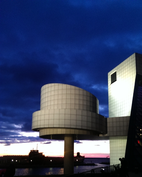 The Rock Hall at sunset